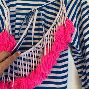 Sundress Swim - Sundress Indiana Striped Beach Dress Coverup